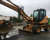 Case WX125 excavator pe roti second-hand