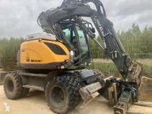 Excavadora excavadora de ruedas Mecalac 714 MW e