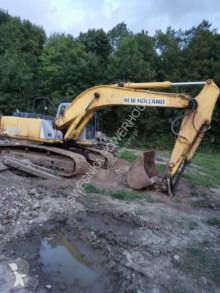 New Holland e215 koparka gąsienicowa excavadora de cadenas usada