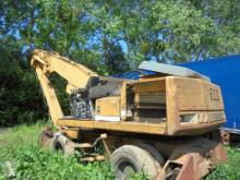 Liebherr excavadora de ruedas usada