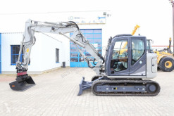 Excavadora excavadora de cadenas Kobelco SK 85 MSR-3 * 194 H * 1 YEAR GUARANTEE *NEW CENTRAL LUBRICATION