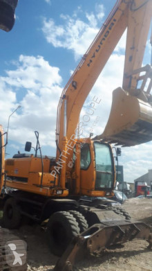 Hyundai 200W-7 used wheel excavator