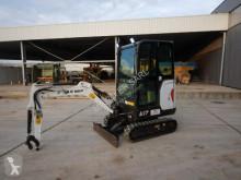 Bobcat E17 mini-excavator second-hand