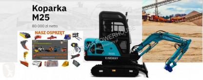Excavadora Kingway M25 miniexcavadora nueva
