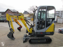 Wacker Neuson ET16 mini-escavadora usada