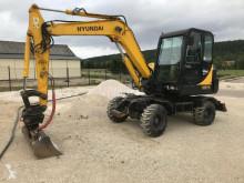 Excavator pe roti Hyundai 55-7A