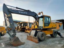Excavadora de ruedas Volvo EW 160 B