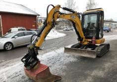 JCB 8035 zts excavator used