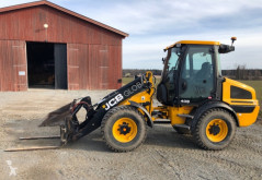 JCB 409 incarcator pe roti second-hand