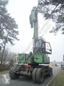 Sennebogen 735 Holzumschlag excavator pe roti second-hand