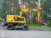 جرافة جرافة على عجلات Caterpillar M314 F mit Verstellausleger #135