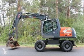 Excavadora excavadora de ruedas Terex Atlas/ 160W - mit SMP Schnellwechsler