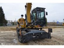 Caterpillar used wheel excavator