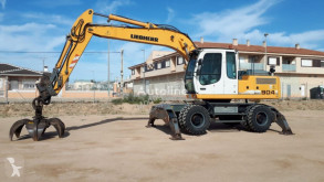 Liebherr A 904 C used wheel excavator