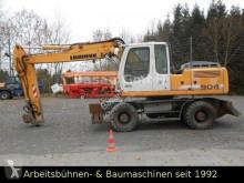Pelle sur pneus Liebherr 904 Litr Mobilbagger