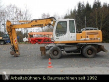Liebherr 904 Litr Mobilbagger pelle sur pneus occasion