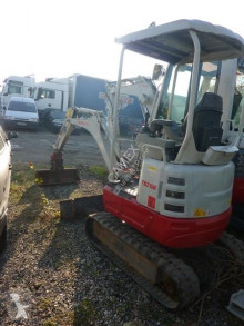 Escavadora Takeuchi TB215R mini-escavadora usada