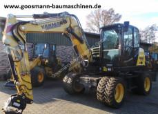 Excavadora Yanmar B 95 W excavadora de ruedas usada