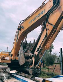 Hyundai R250NLC-3 used track excavator