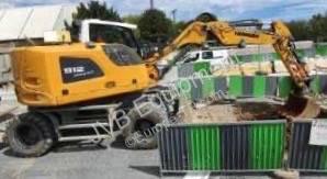 Excavadora excavadora de ruedas Liebherr A912 Compact (série III)