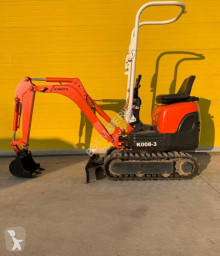 Kubota K008-3 used mini excavator