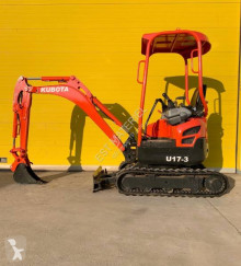 Kubota U17-3a mini-excavator second-hand