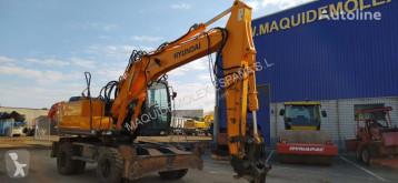 Excavadora Hyundai Rolex 140W-7A(0177) excavadora de ruedas usada