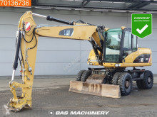 Caterpillar M316 used wheel excavator