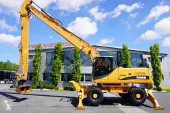 Pelle sur pneus Case WX240 23t , LONG REACH 16m , 4000mth , hdyraulic bucket