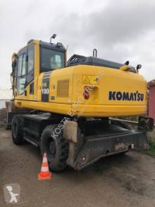Escavadora de rodas Komatsu PW180