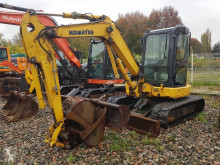 Komatsu PC45MR-3 mini-escavadora usada