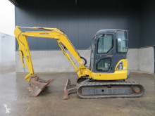 Komatsu PC55MR-3 mini-escavadora usada