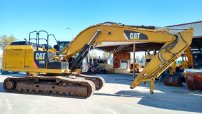 Caterpillar 329E used track excavator