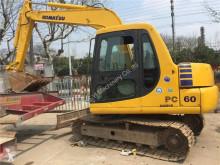 Excavadora Komatsu PC60-7 PC60-7 miniexcavadora usada