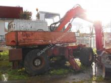 Poclain 60 gravemaskine på hjul brugt