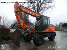 Excavadora Doosan DX 160 W excavadora de ruedas usada