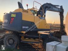 Excavadora Volvo EW160 D excavadora de ruedas usada