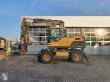 Excavadora Volvo EW160D excavadora de ruedas usada