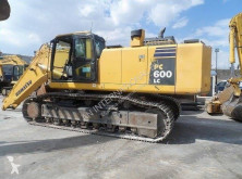 Komatsu PC600LC-8 excavator pe şenile second-hand