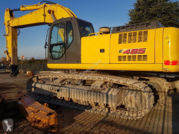New Holland E 485 used track excavator