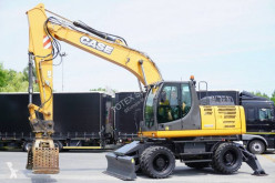 Case WX 168 , 18t , grapple , rotator excavator pe roti second-hand