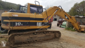 Caterpillar 317N used track excavator