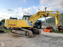 New Holland E 215 used track excavator