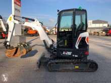 Bobcat E 26 used mini excavator