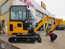 Excavadora miniexcavadora JCB 19 C-1 + Unsinn UBA 3536-14-1800 Anhänger 3,5 t
