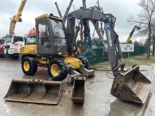 Mecalac 12 MXT excavator pe roti second-hand