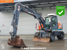 Atlas 160 W excavator pe roti second-hand