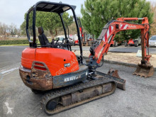 Kubota KX101-3 used mini excavator