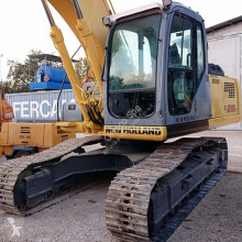 New Holland E 215 B used track excavator