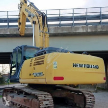 New Holland E385C used track excavator
